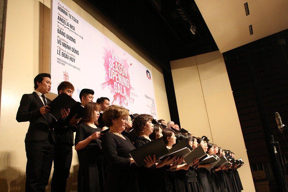 """HCYC trong buổi hòa nhạc """"NVSO Season Opening Gala"""" tại Nhà hát lớn Hà Nội"""
