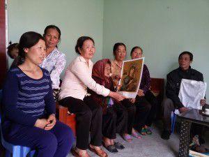 Linh ảnh Đức Mẹ Hằng Cứu Giúp trong tuần Đại Phúc tại một Giáo xứ ở Thái Bình