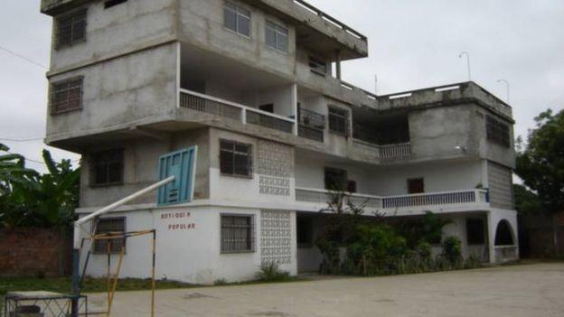 Trường học, nơi xảy ra động đất