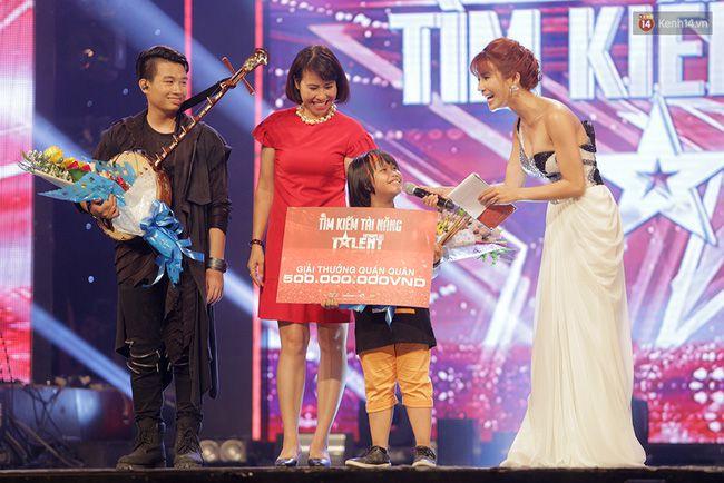 Bé Trọng Nhân đoạt giải quán quân chương trình giải trí ViẹtNam Got Talent 2016