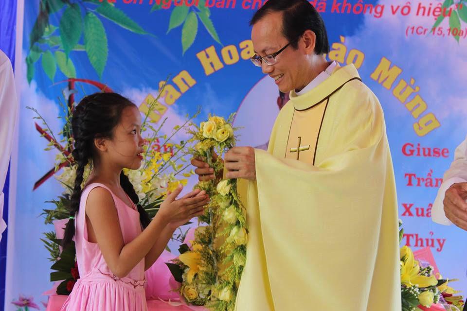 Linh mục Giuse Trần Xuân Thủy sinh năm 1979. Khấn trong DCCT năm 2007