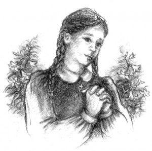 Thánh Maria Goretti. Ảnh internet