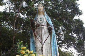 Tượng Đức Mẹ tại Măng Đen, Kom Tum