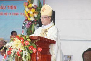Đức tân Chủ tịch Hội Đồng Giám mục Việt Nam, nhiệm kỳ 2016-2019: Đức cha Giuse Nguyễn Chí Linh, Giám mục Giáo phận Thanh Hóa