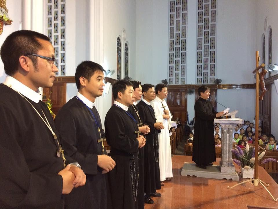 Đoàn Đại phúc có 7 cha thuộc cộng đoàn DCCT tại Vinh, Hà Nội, Huế, Đà Lạt