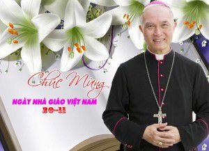 Đức cha Giuse Đinh Đức Đạo, Giám mục Gp Xuân Lộc, Chủ tịch Ủy Ban Giáo Dục Công Giáo