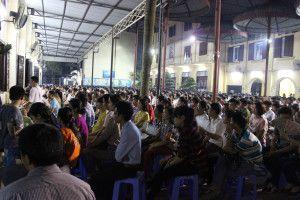 Ngày thứ Bảy và Chúa nhật tại nhà thờ Thái Hà luôn quá tải người đến tham dự thánh lễ. Do vậy, Nhà Dòng mời gọi mọi người không ngừng cầu nguyện để nhà cầm quyền trả lại tu viện và các cơ sở khác của Dòng để đáp ứng nhu cầu phục vụ đời sống tâm linh cho người dân