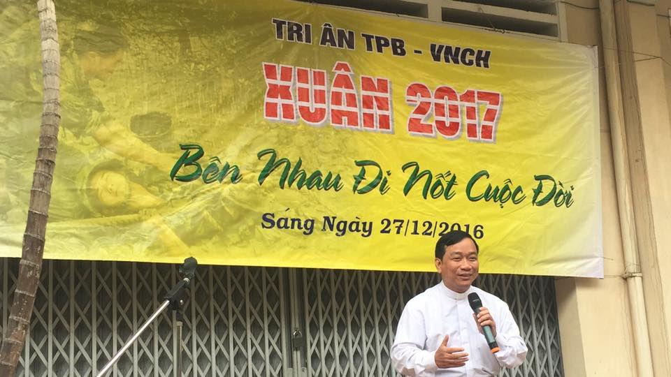 Cha Antôn Lê Ngọc Thanh, DCCT ngỏ lời với quý ông thương phế binh