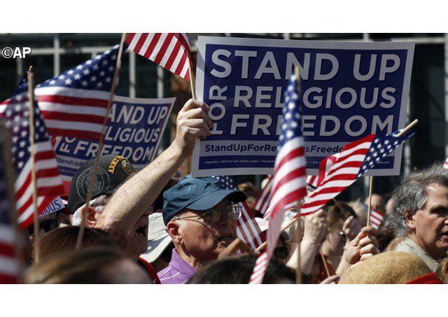 tuần hành yêu cầu tự do tôn giáo ở Hoa kỳ - AP