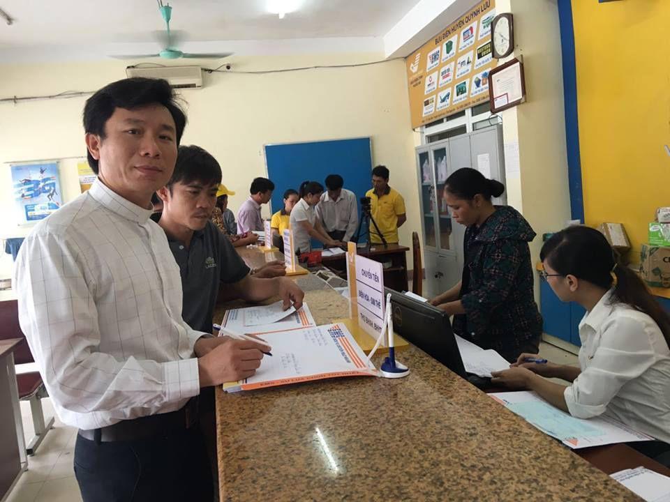 Linh mục JB Nguyễn Đình Thục, quản xứ Song Ngọc ở huyện Quỳnh Lưu, Nghệ An