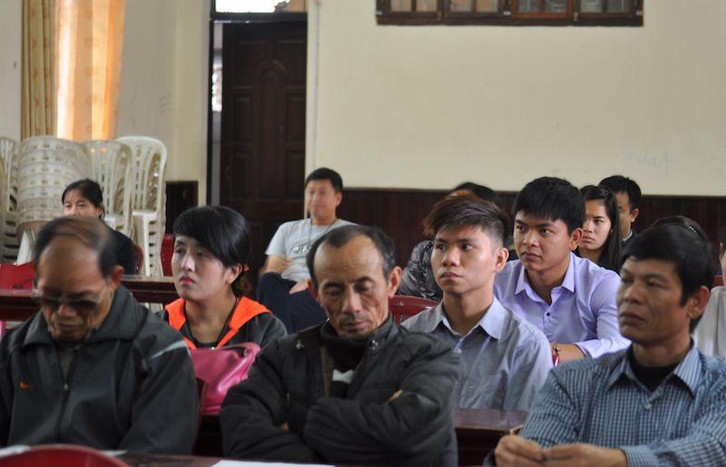 Tham dự viên trong cuộc Hội thảo