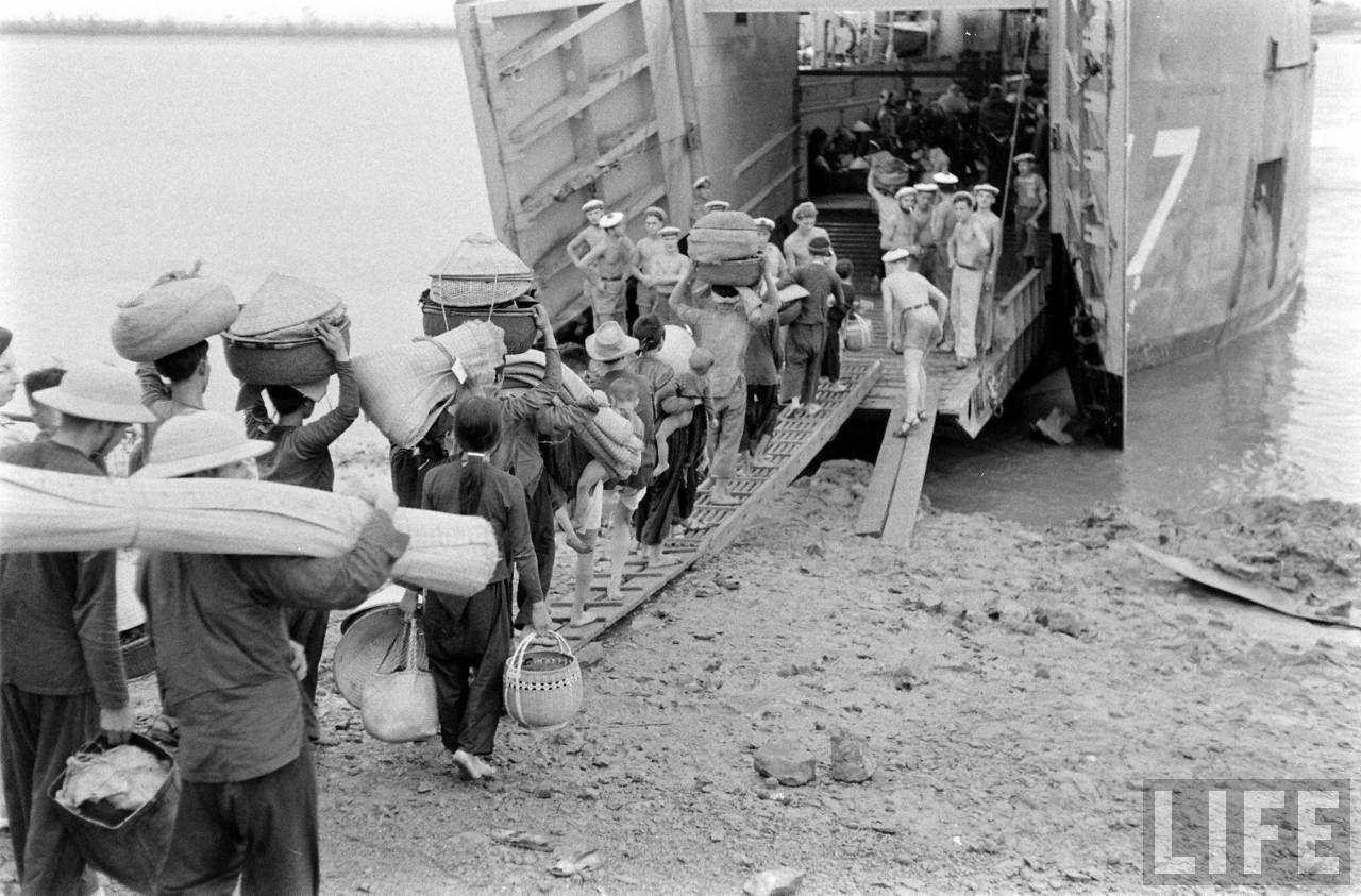 Cuộc di cư của đồng bào Miền Bắc vào Miền Nam năm 1954
