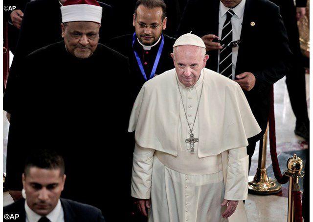 Đức Thánh Cha phát biểu tại Hội nghị Hòa bình ở Cairo - AP