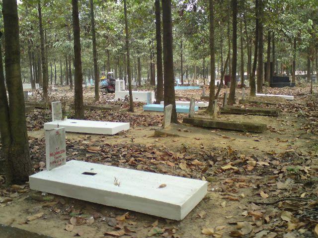 Nghĩa trang tử sĩ quân lực Việt Nam Cộng Hòa tại Biên Hòa, Đồng Nai ngày nay. Ảnh internet