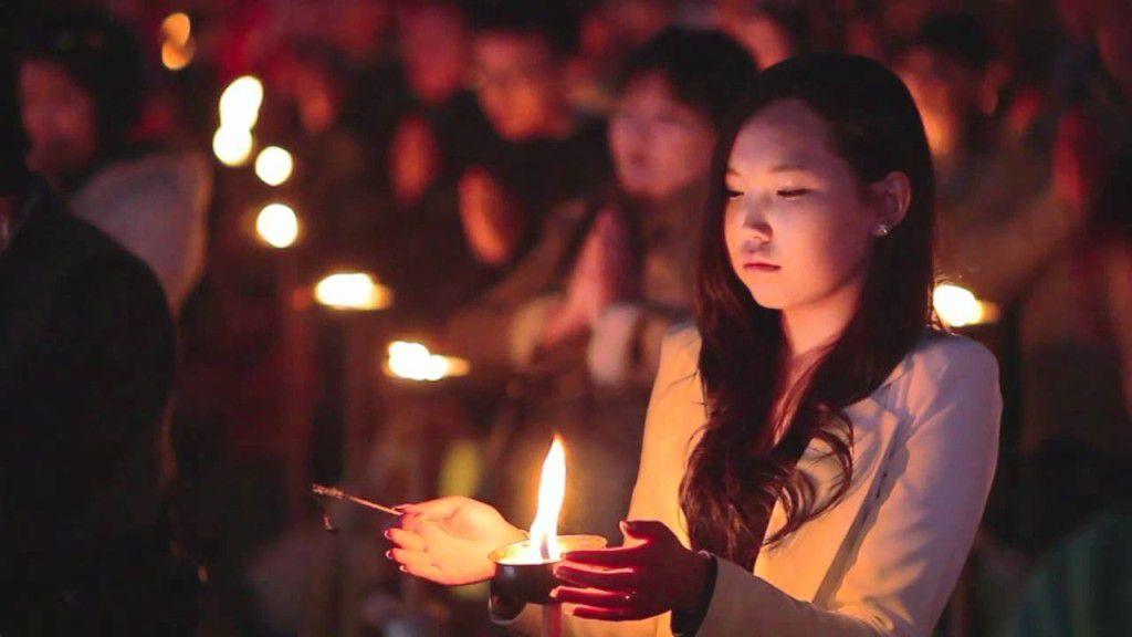 Ngày Phật Đản năm 2012 tại Mông Cổ. Ảnh internet
