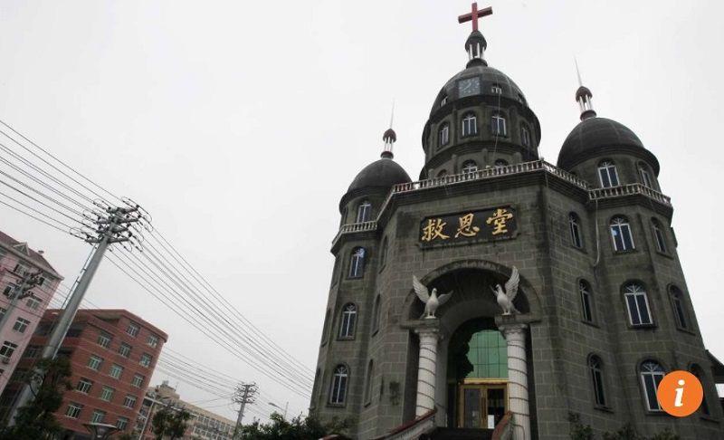 Các camera giám sát đã được lắp đặt tại mọi nhà thờ ở Ôn Châu. Ảnh: Simon Song