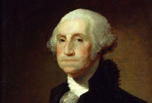 Chân dung vị tổng thống đầu tiên của nước Mỹ, George Washington