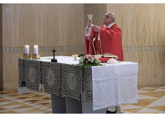 Thánh lễ tại nhà nguyện Marta, 01.06.2017