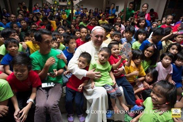 Đức Thánh Cha Phanxicô trong chuyến thăm Philippines hồi tháng 1.2015