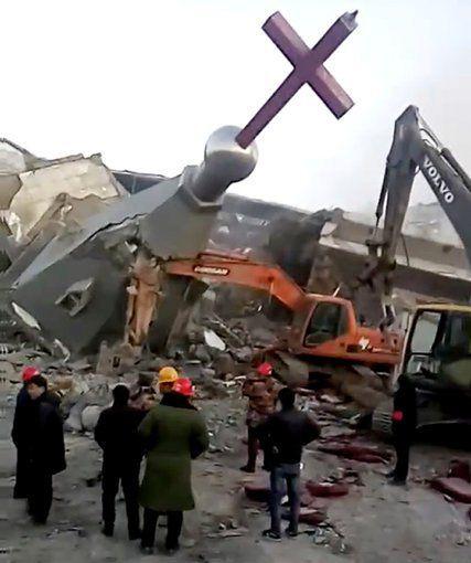 Cảnh sát phá hủy nhà thờ Kitô lớn nhất Trung Quốc - Ảnh minh hoạ 4